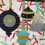 Quilt-a-long ornaments block five