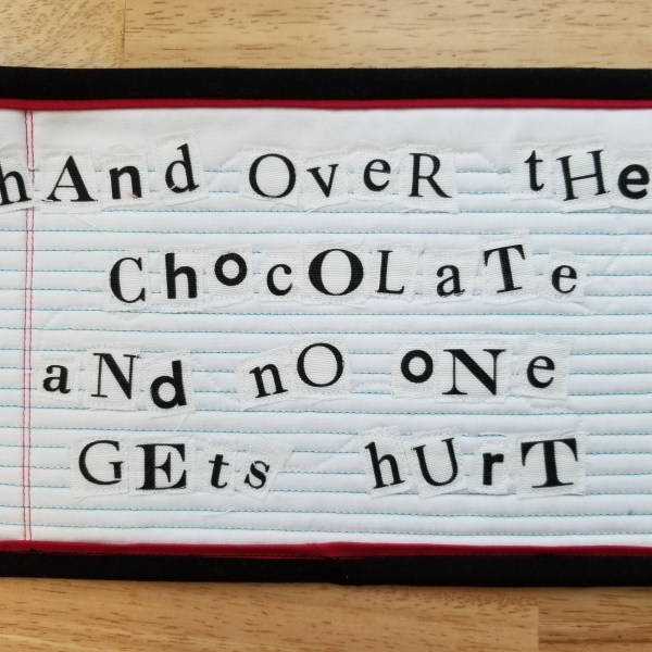 ransom mug rug chocolate