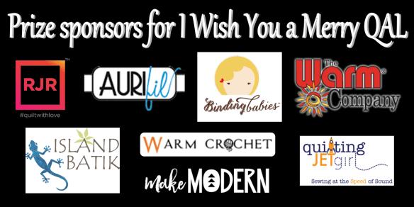 quilt-a-long sponsors