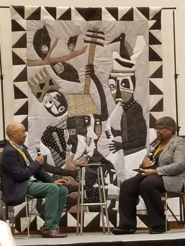 Carolyn Mazloomi interviews Michael Cummings