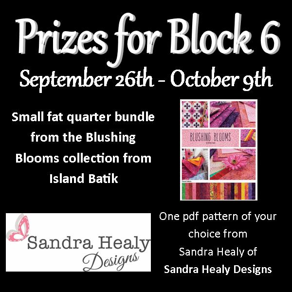 Merry QAL Block 6 Prizes