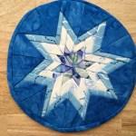 Folded Star Mug Rug