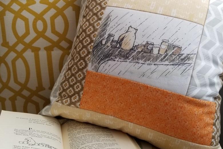 Pooh Bear Pillow