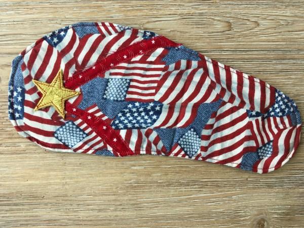 Patriotic Flip Flop Mug Rug