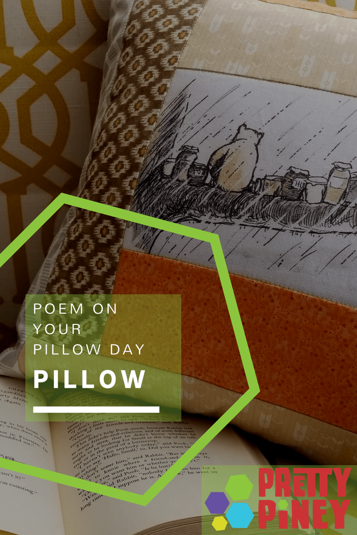 Stitch a poem directly onto a quilted pillow cover to send a message they'll treasure.