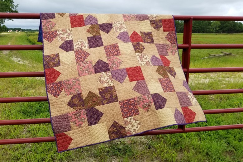 What I Made Monday--Terrain Quilt