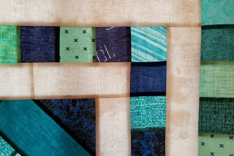 Border Quilt QAL Rows 3 and 4