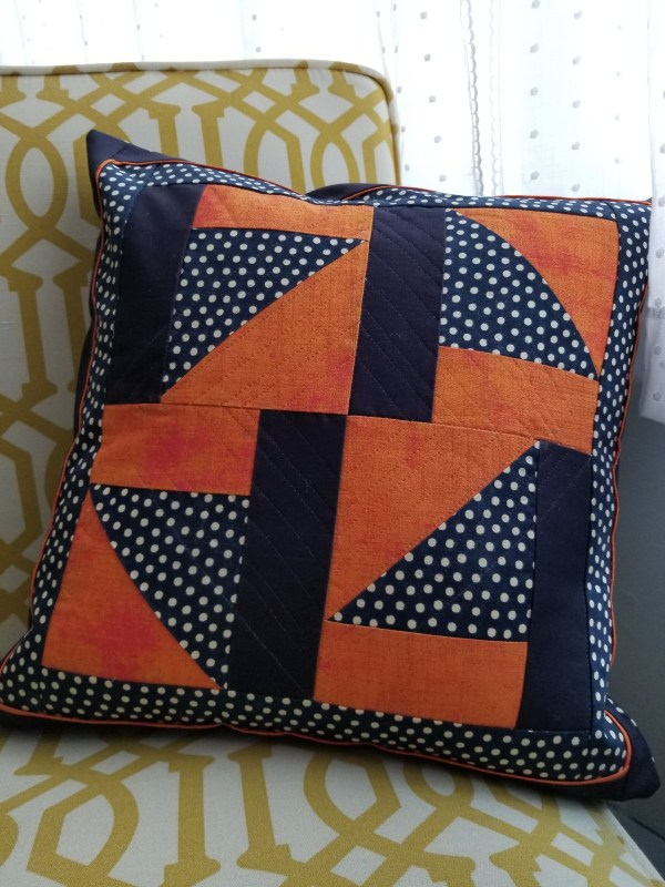 Turnabout Patchwork Flying Flags Pillow