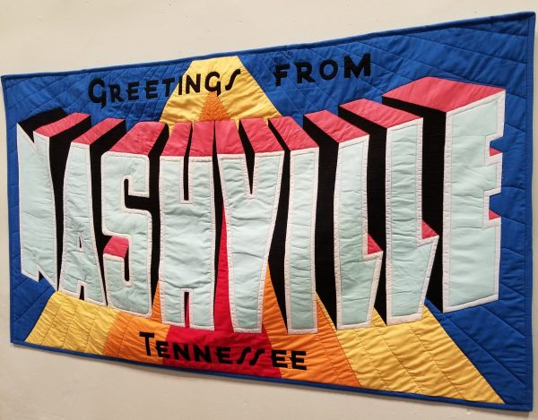 Greetings from Nashville QuiltCon