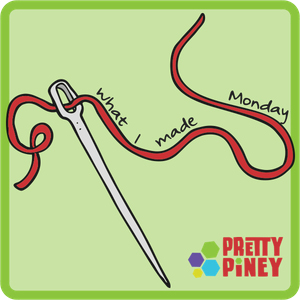Show off your latest works-in-progress with What I Made Monday, a weekly linky party to share your work and see what other bloggers have been up to.
