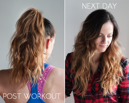 Post Workout Hair Without Washing Pretty Plain Janes