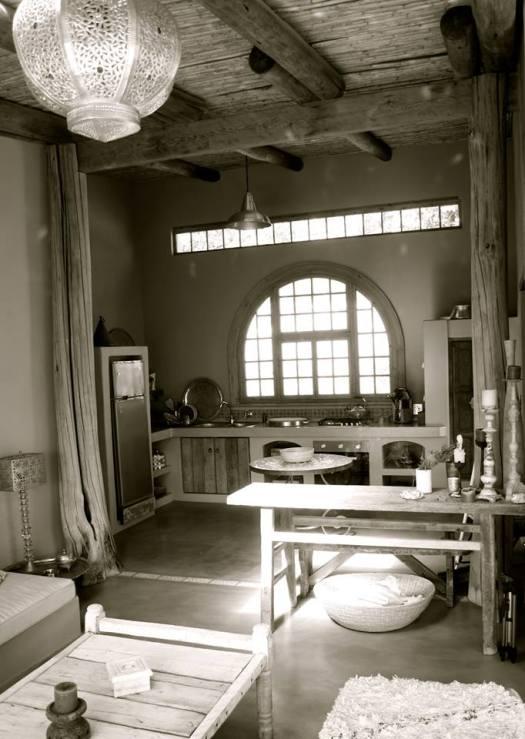 Akasha Mountain Retreat kitchen