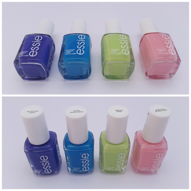 essie neon collection 2015 Groove is in the Heart, Vibrant Vibes, Make Some Noise, All Access Pass