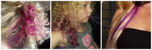 BambiShoes pink hair purple hair