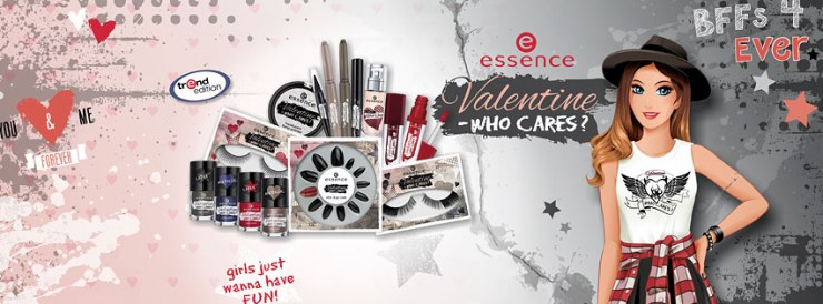 essence Valentine - Who Cares Trend Edition giveaway swatches reviews