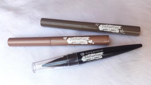 essence Valentine - Who Cares Trend Edition smokey eyeshadow sticks & smokey cream kajal