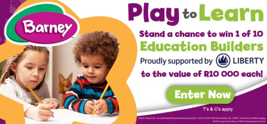 Liberty education builder giveaway