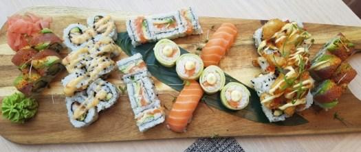 Ben Wei Sushi platter