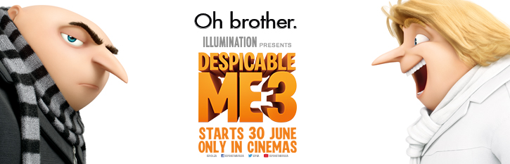 Win double tickets to see Despicable Me 3 in 3D!