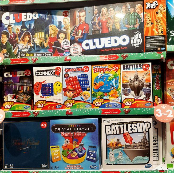 Toy Kingdom board games