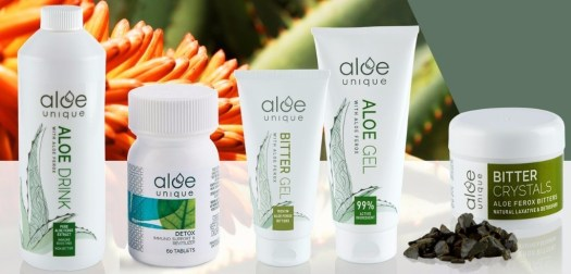 A Wellness Boost thanks to Aloe Unique