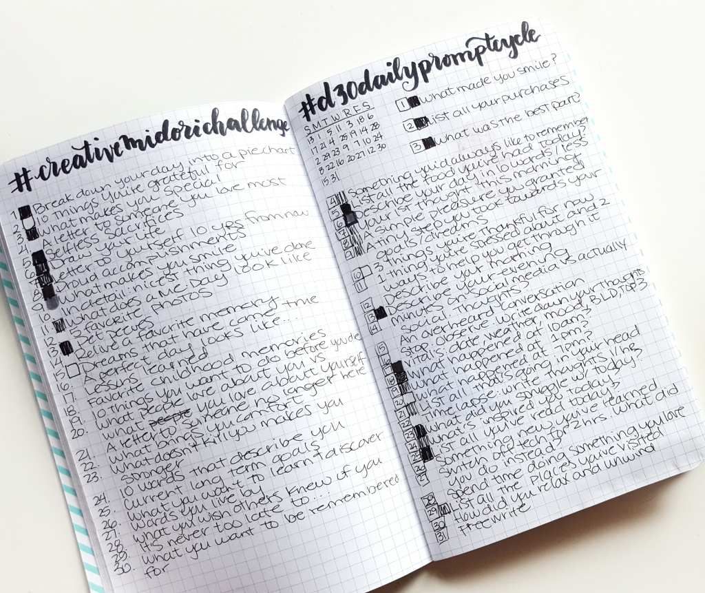 Keeping a journal is not only a great keepsake, but a release, a way to process, and take care of your own feelings and ideas // www.prettyprintsandpaper.com