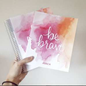 Today I talk about some of my favorite (and not favorite) and bullet journal supplies of October - like these Erin Condren dot grid notebooks