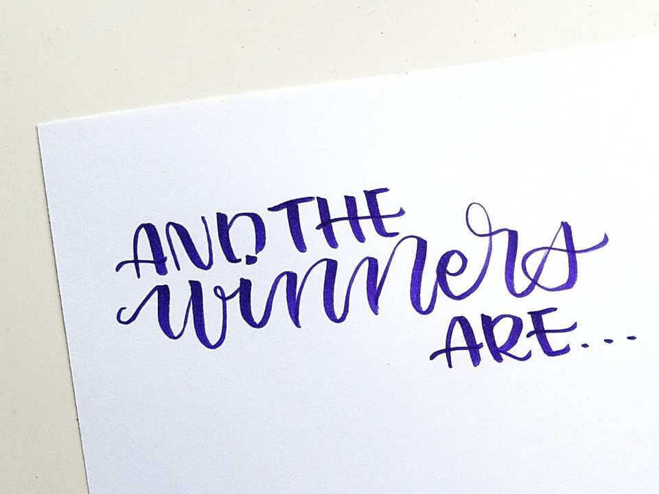 And the winners of the #PPP75KGiveaway are...