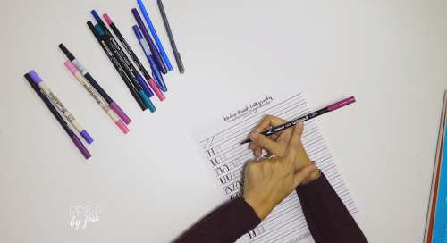Intro to Modern Brush Calligraphy