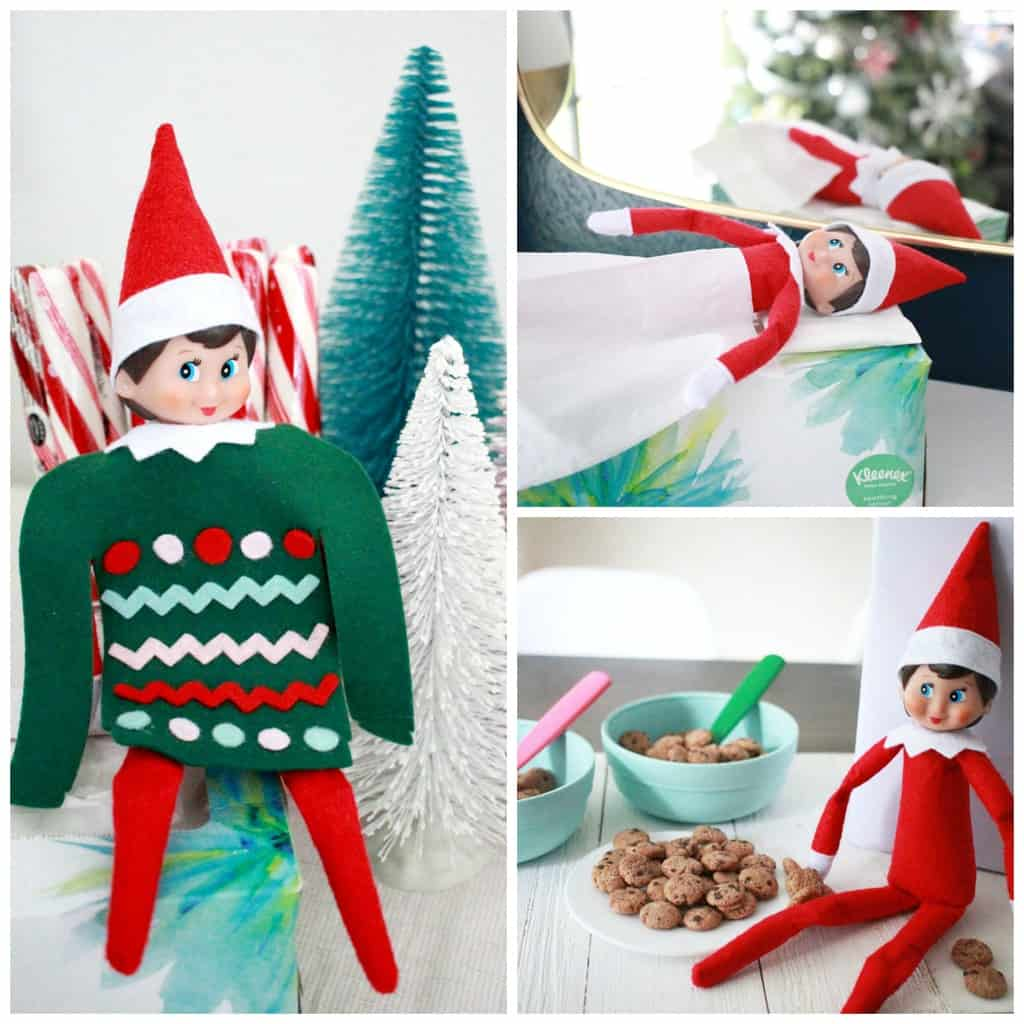 elf on the shelf ideas funny and cute