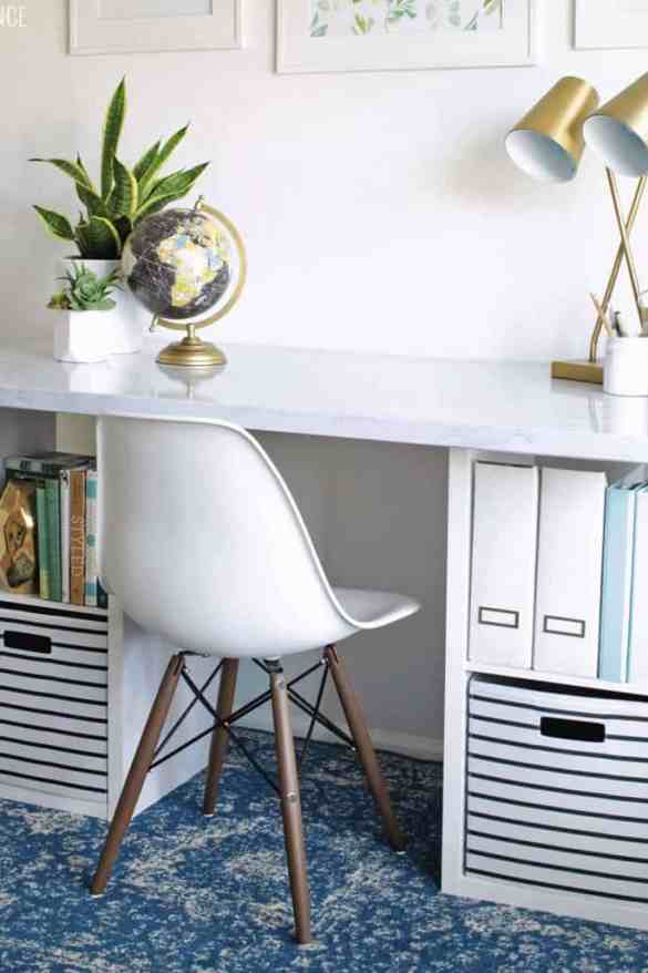 Attractive Tag Diy Desk Creative Study Des
