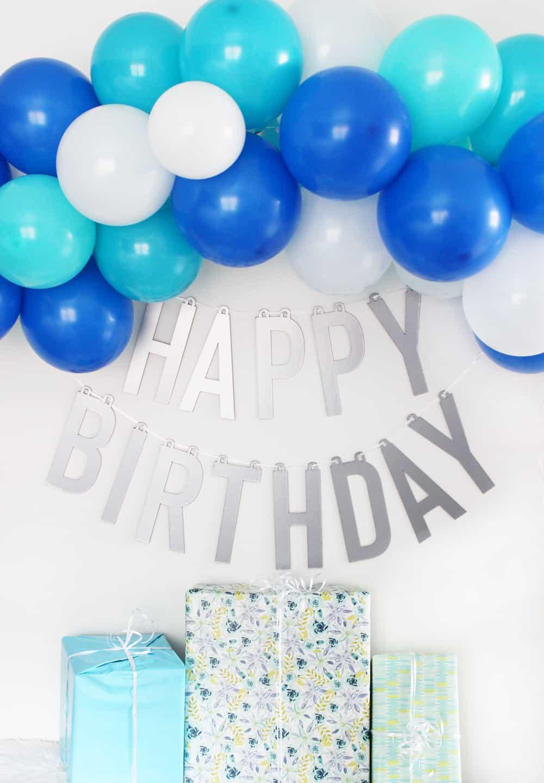 Diy Happy Birthday Banner Made With Cricut Maker