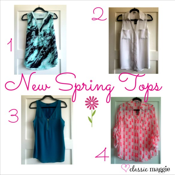 Spring Tops
