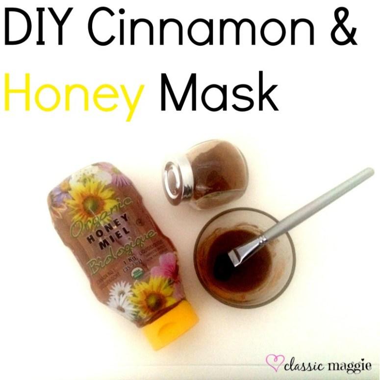 DIY Honey & Cinnamon Mask