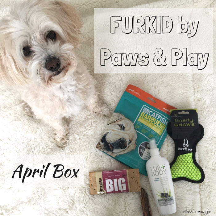 FURKID by Paws & Play - April 2016 Box