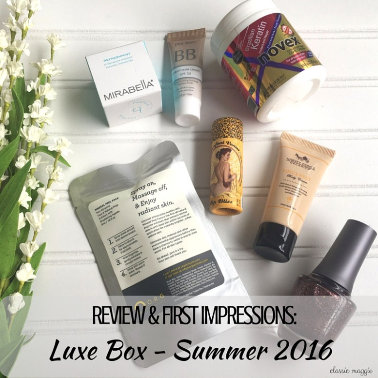 Luxe Box Review