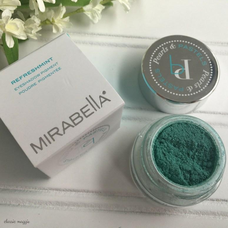 Mirabella Refreshmint Eyeshadow Pigment