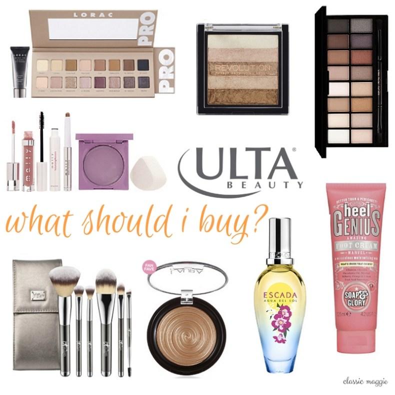Ulta Shopping List