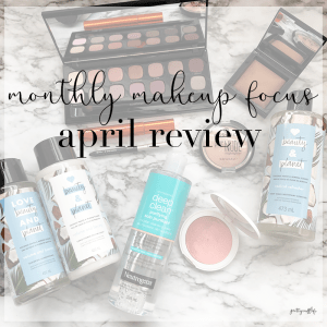 Monthly Makeup Focus – April Review