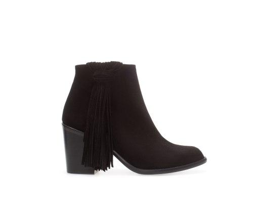 Boots à franges Zara - 79.95 Euros