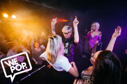 Sharon Needles Lip Sync Battle at We Love Pop Club Glasgow by Dominic Martin