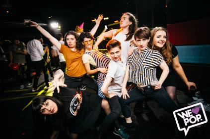We Love Pop Club Crowd 6 by Dominic Martin
