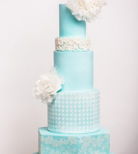 wedding-cakes-in-Blue