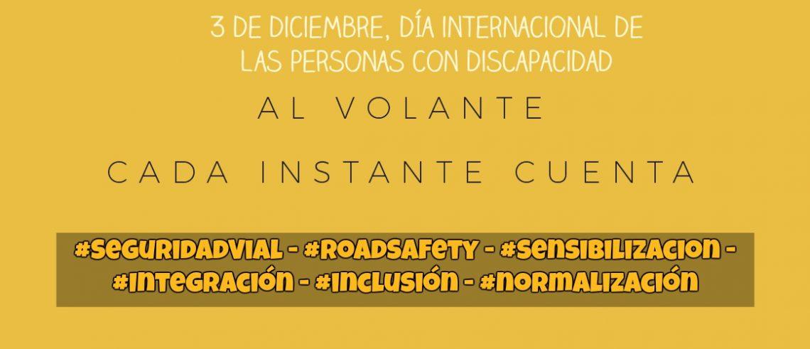 3 de diciembre, día internacional de las personas con discapacidad.