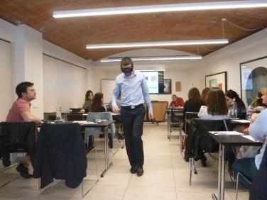 Dinámica del uso de gafas de simulación de fatiga.