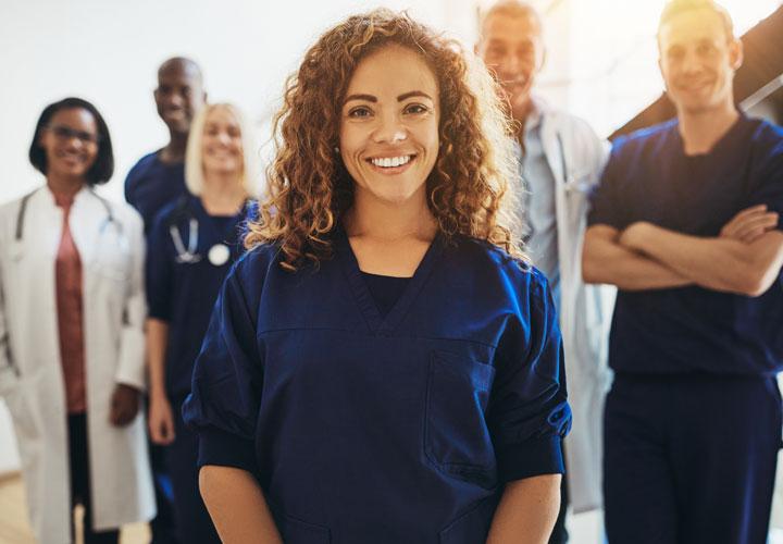 les professionels de la santé