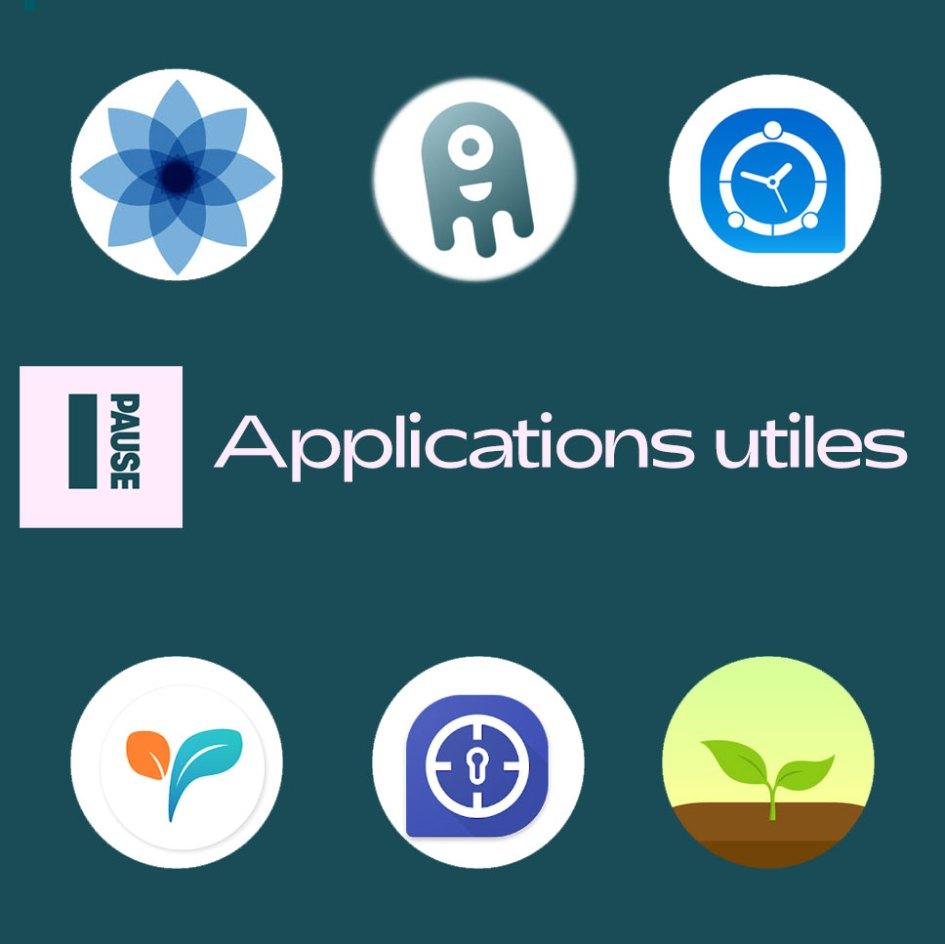 applications utiles temps d'écran
