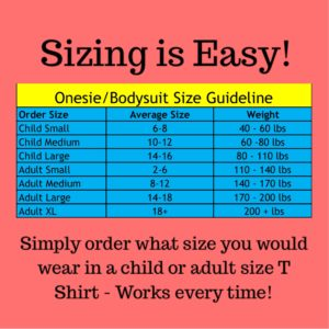 onesie-bodysuit-sizing - Special Needs Incontinence Clothing by Preventa Wear
