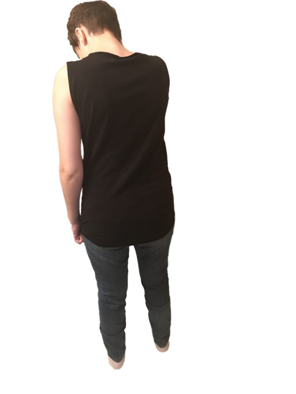 low back tank top - Incontinence Clothes, Special Needs Bodysuit - Preventa Wear