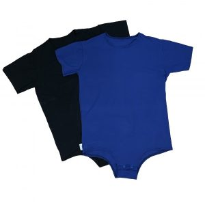 colored adaptive onesies - Special needs clothing by Preventa Wear